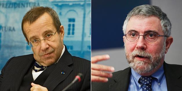 Toomas Hendrik vs paul krugman