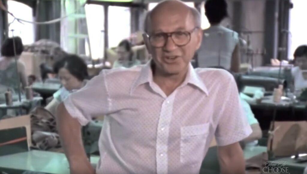 Milton Friedman Libre para elegir El poder del Mercado